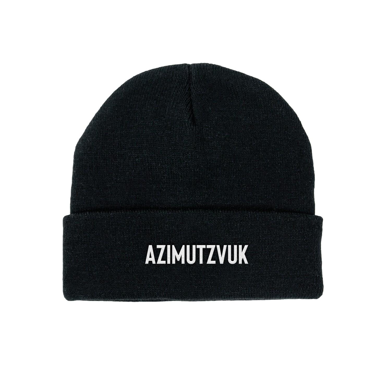 AZIMUTZVUK ШАПКА - ЧЕРНАЯ