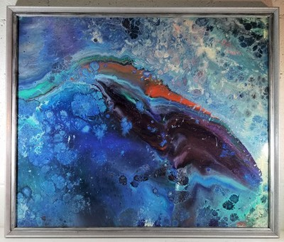 21 X 25 ORIGINAL ABSTRACT PAINTING:
