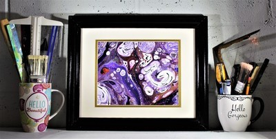 14 X 17 ORIGINAL ABSTRACT PAINTING: