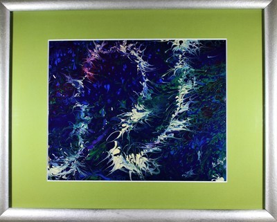 12 X 15 ORIGINAL ABSTRACT PAINTING:
