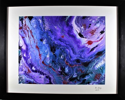 16 X 20 ORIGINAL ABSTRACT PAINTING: