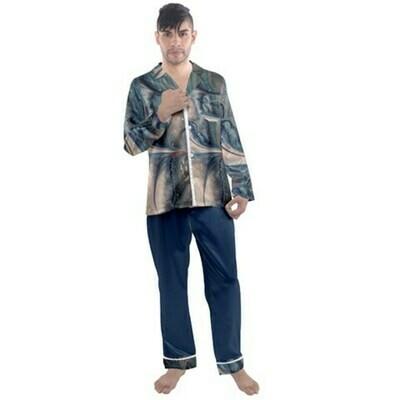 Men's Satin Pajamas