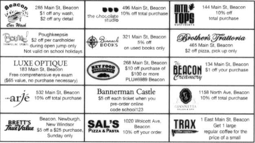 Beacon Discount Card