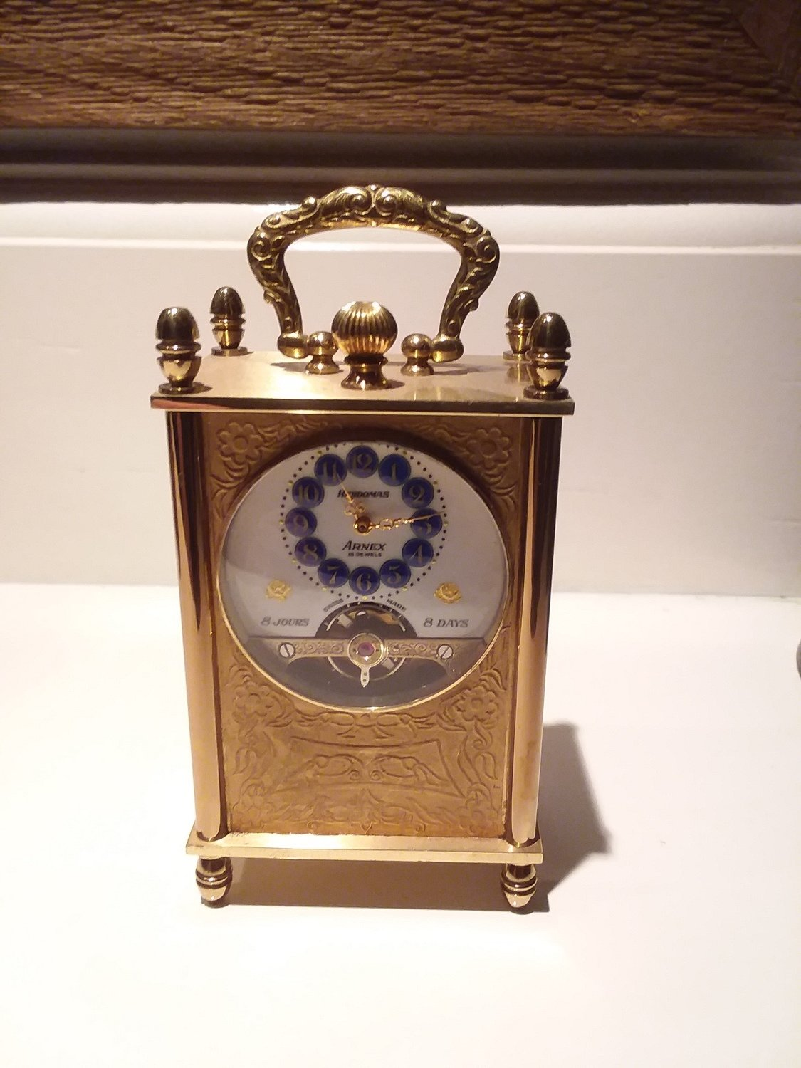 Mini carriage clock