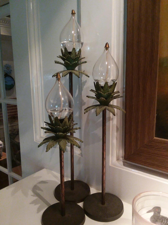 Oil candlesticks