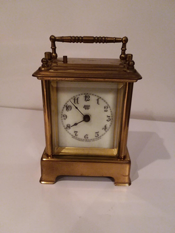 Waterbury mini Cariage Clock