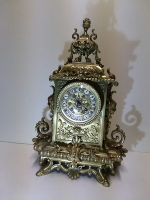 Bronze French Clock