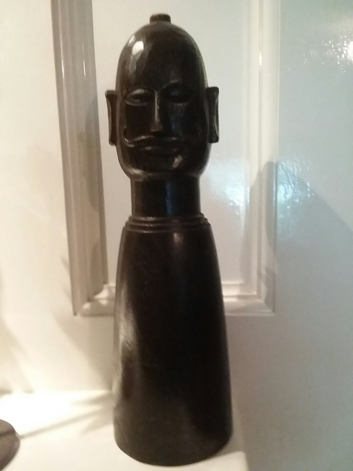Carved chess piece