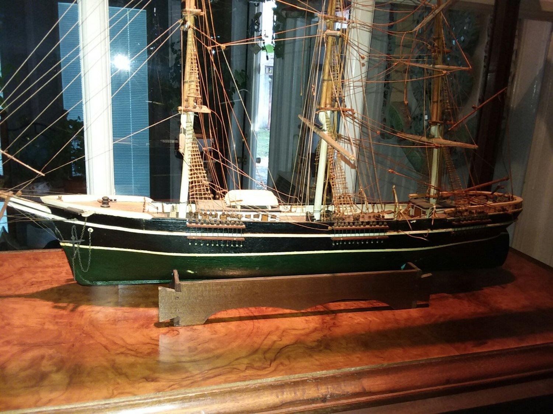 Antique Wood Ship Model