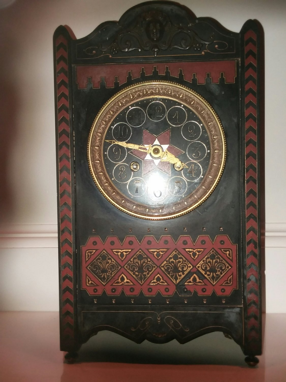 TIFFANY AND COMPANY SLATE CLOCK