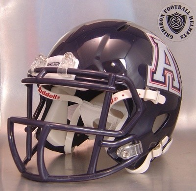 Allen Eagles High School 2012-2014 (TX) (mini-helmet)