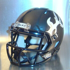 Cotton Center Elks HS 2011 to 2012 (TX) (mini-helmet)