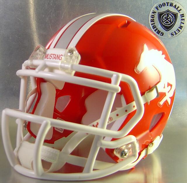 Denver City Mustangs 2014-2015 (HS) (TX) (mini-helmet)