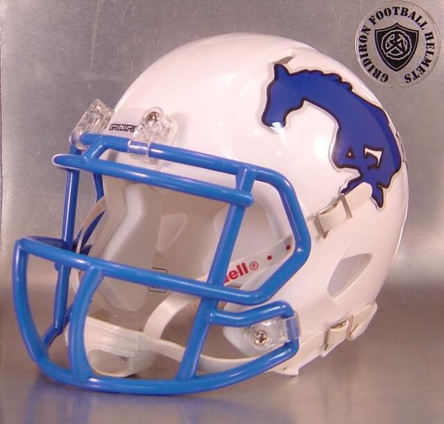 Friendswood Mustangs HS 2015 - 2017 (TX) White  (mini-helmet)