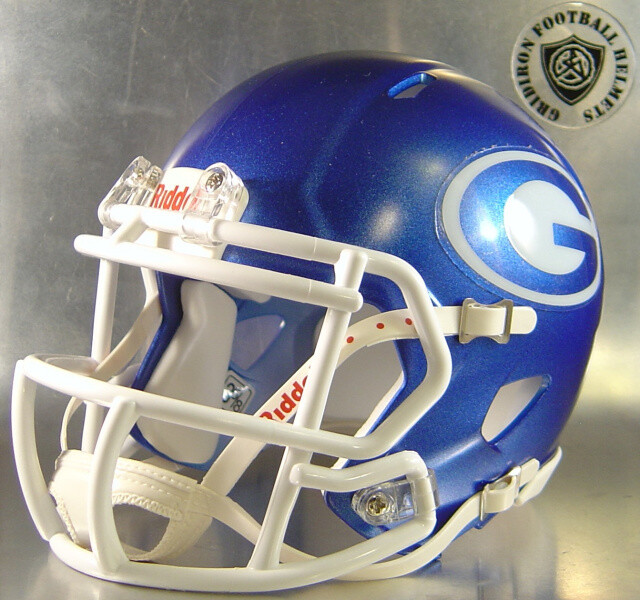 Grand Prairie Gophers HS 2013-2016 (TX) Metallic Royal Shell