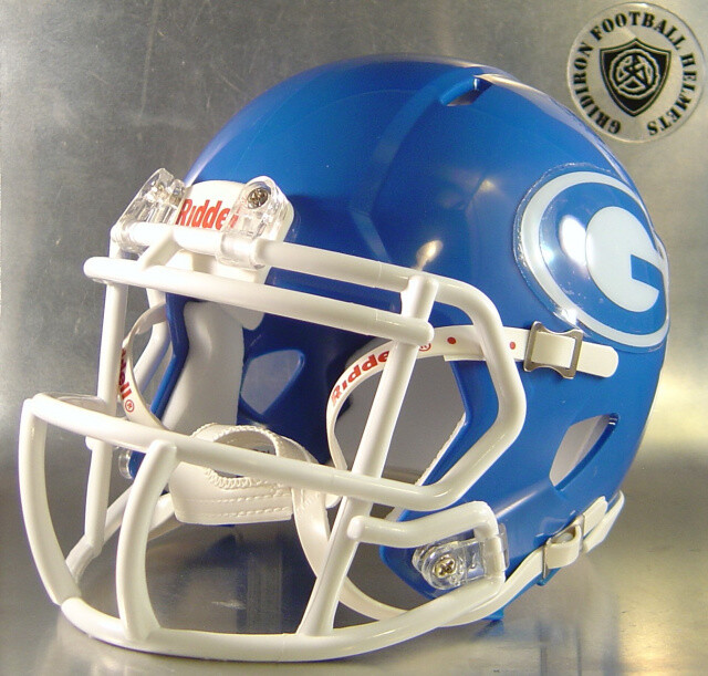 Grand Prairie Gophers HS 2007 (TX) Royal (mini-helmet)