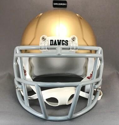 Alexander Bulldogs HS (TX) 2018 (mini-helmet)