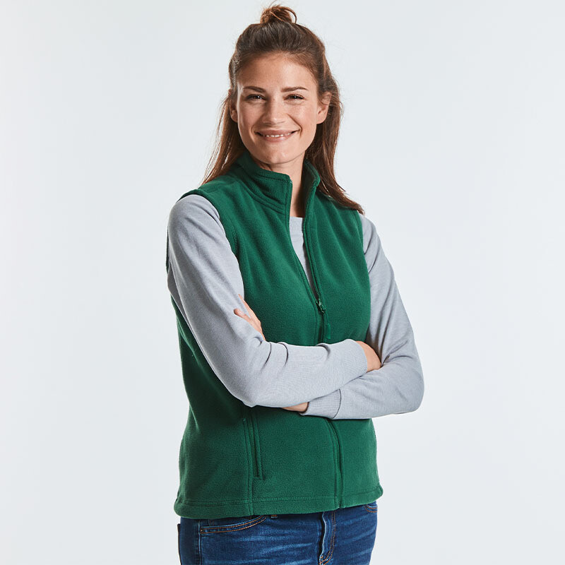 8720F Russell Women's outdoor fleece gilet
