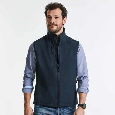 J141M Russell softshell gilet