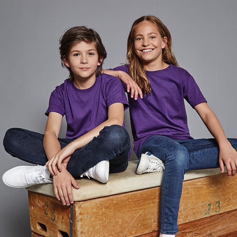 J155B Russell Kids slim fit t-shirt