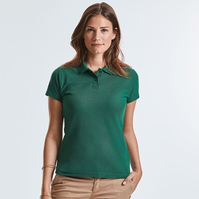 J539F Russell Women's classic polycotton polo