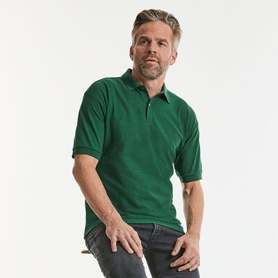 J539M Russell Classic polycotton polo