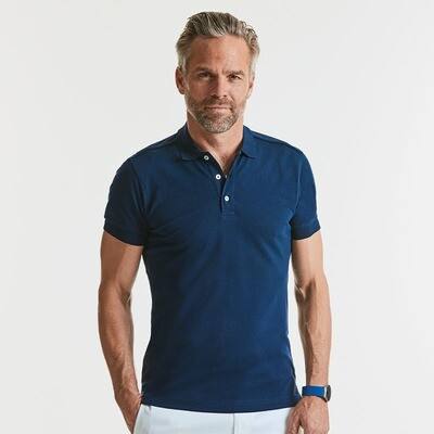 J566M Russell Stretch polo
