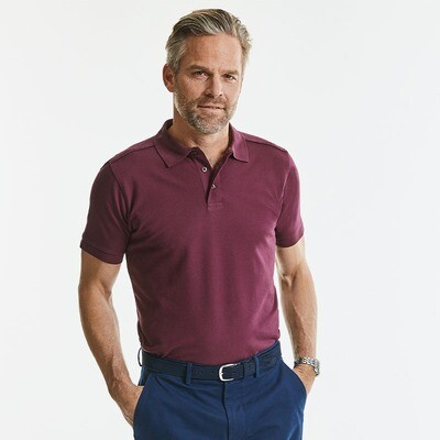 J567M Russell Tailored stretch polo