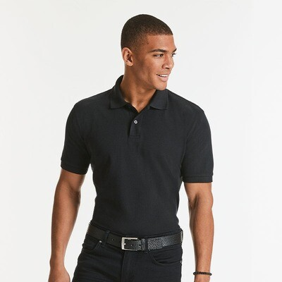 J569M Russell Classic cotton pique polo