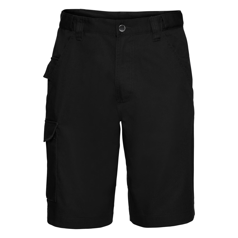 J002M Russell Polycotton twill workwear shorts