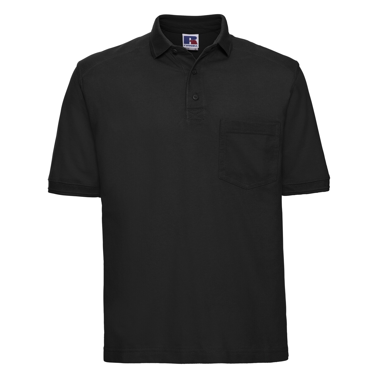 J011M Russell Heavy-duty polo