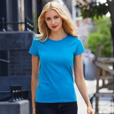 GD009 Gildan women's premium softstyle t-shirt