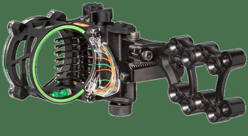 Trophy Ridge Fix Series Sight 7 Pin Black 00015