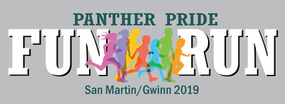 2019 Panther Pride Fun Run & Color Party Shirts