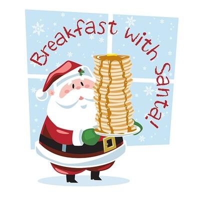Santa's Breakfast Tickets/Boletos de Desayuno con Santa