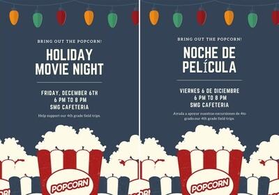 Movie Night Tickets / Boletos para Noche de Película