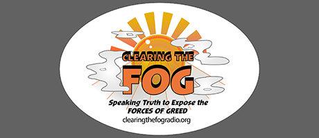 Clearing The FOG Bumper Sticker 00099