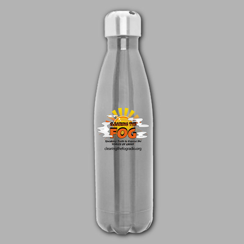 Clearing The FOG Water Bottle 00095