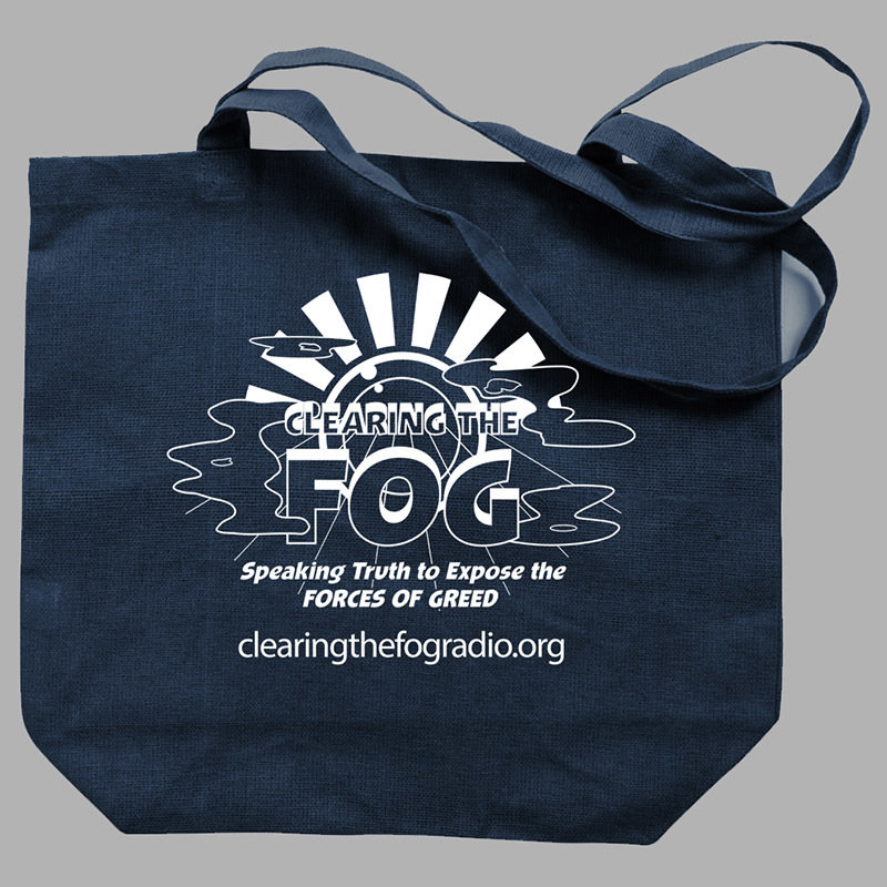 Clearing The Fog Tote Bag 00097