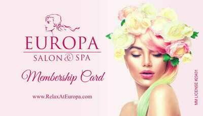 (Get a $30 Gift card on us) Europa Spa 6 month membership Holiday special