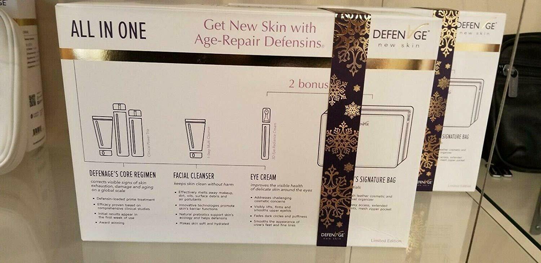 Defenage Skincare 5 Piece Holiday Set