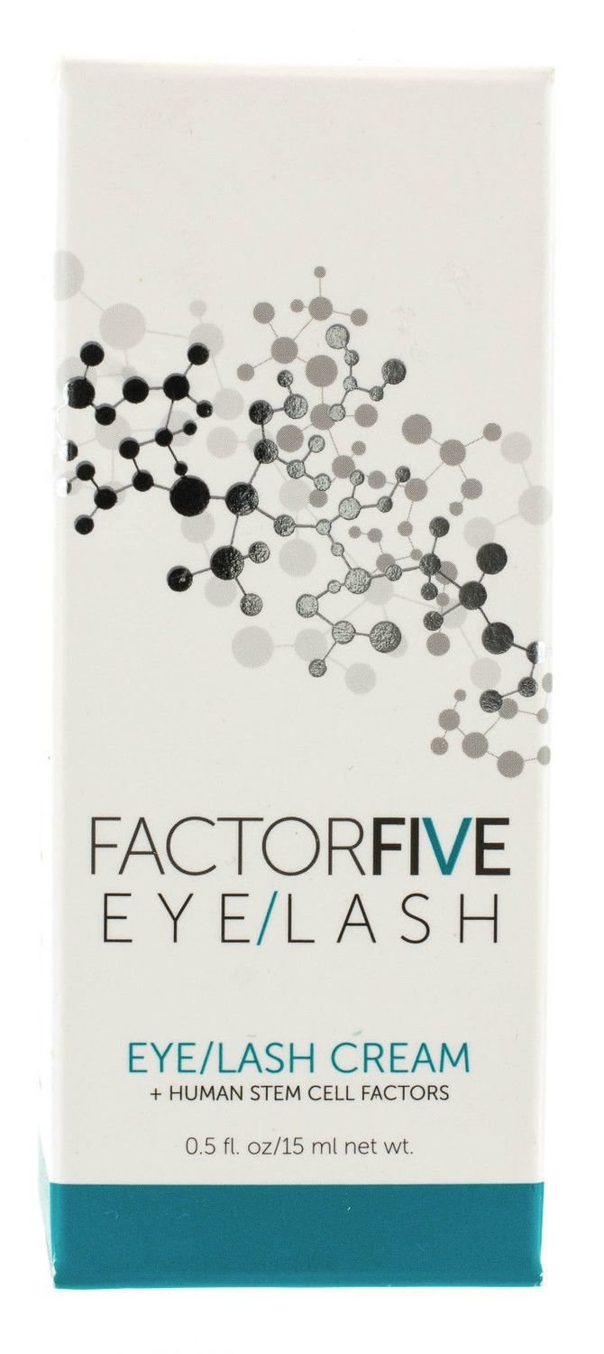 FACTOR FiVE EYE AND LASH Human Stem Cell Factors CREAM