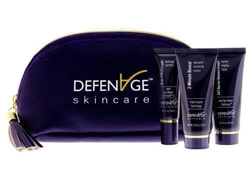 DefenAge Fly Kit (3-Piece Set 2-Minute Masque/ 24/7 Barrier/ 8-in-1 BioSerum)