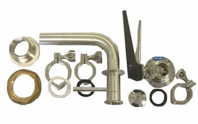 RP1BH - Racking Port Kit 1.5 in. w/ BH Fitting