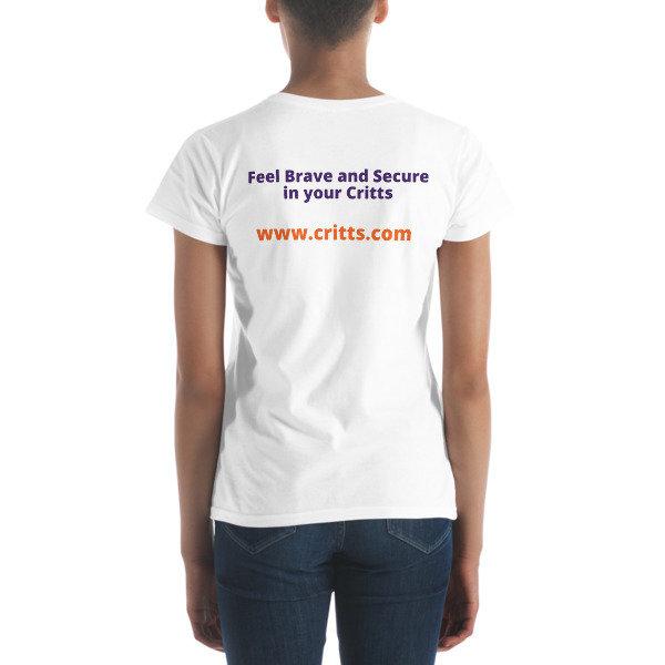 Critts women's short sleeve t-shirt