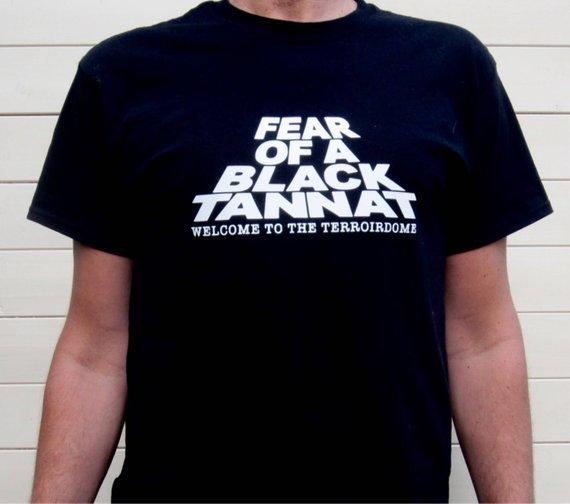 Tannat Public Enemy Wine T-shirt - Mens & Womens