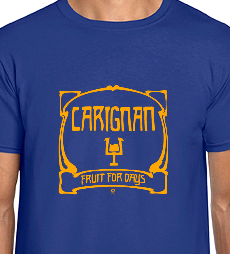 Carignan Fruit for Days Red Wine T-shirt - Can Krautrock