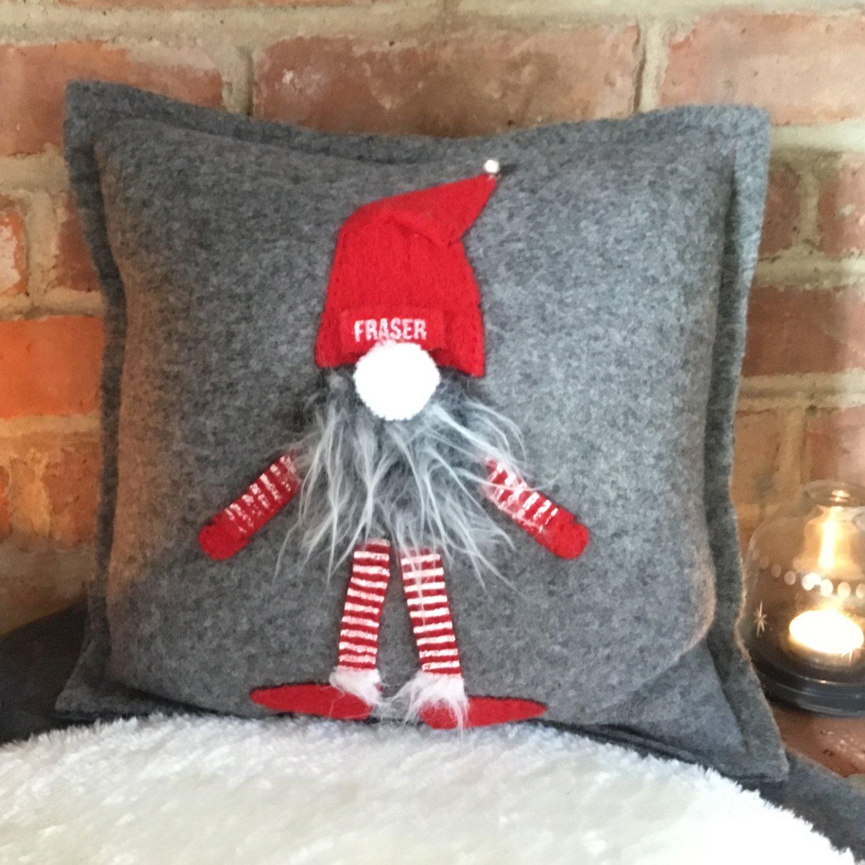 Julenisse elf personalised Cushion