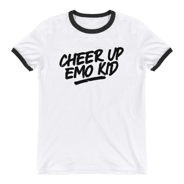 Cheer Up Ringer T-Shirt