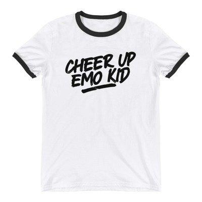 Cheer Up Ringer T-Shirt